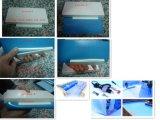 Großhandelsgleitschutz1.2mm 1.5mm 2mm Blau-Farben-Mosaik-Farbe Belüftung-Swimmingpool-Zwischenlage
