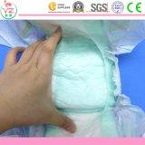 Absorción superficial seca y tipo disponible pañales del pañal del bebé en bulto