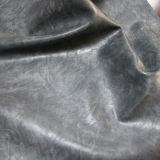 Couro sintético do plutônio dos bens macios quentes da venda para a mobília das sapatas (E6087)
