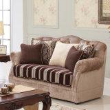 Insieme americano del sofà del tessuto dello strato antico del salone