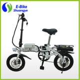 Precio de fábrica bici plegable eléctrica de la sola velocidad de 14 pulgadas