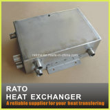 Cambista de calor aprovado da câmara de ar do revestimento de aço do ISO