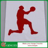 Qingyi t-셔츠를 위한 Stretchable PU 열전달 비닐