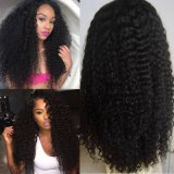 Peruca cheia Curly do laço do cabelo humano/peruca do laço/peruca dianteira do laço