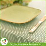カスタム新しいデザインイースター防水長方形の格子縞のテーブルクロス