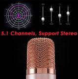 Microphone de condensateur sans fil de karaoke de Bluetooth de mini mode fraîche portative