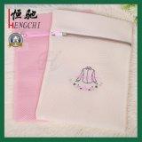 I sacchetti di lavaggio popolari dell'una lavanderia stabilita della maglia con la chiusura lampo
