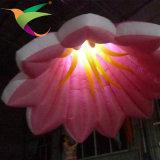 Nueva luz decorativa inflable de la flor que contellea Iflt-027 para la venta