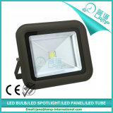 color de la casa de Balck del reflector de 100W LED