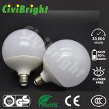 Luces globales de aluminio del plástico E27 G80 12W LED de Ce/RoHS