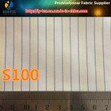 Tela do forro da luva da alta qualidade, tela barata do forro do terno do poliéster (S100.154)