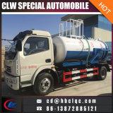Dongfeng 5000L水はVacumble腐敗性ポンプトラックの下水道の吸引の手段を振りかける
