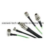 Asamblea de cable coaxial de alambre del alimentador de Rg405 RF