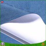 Сплетенная тканьем светомаскировка полиэфира ткани водоустойчивая Coated Flocking ткань для занавеса и крышки стула