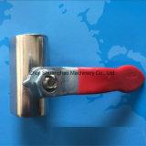 L'acciaio inossidabile ha fatto la mini valvola a gas della valvola a sfera