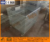 Foldable鋼線の網の大箱