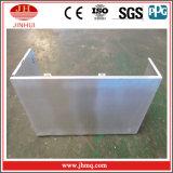 Facciata di alluminio del rifornimento One-Stop di progetto per materiale da costruzione