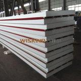 El panel de emparedado prefabricado del material de construcción EPS, el panel de emparedado aislado espuma del EPS