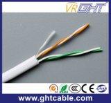 Twisted pair von UTP Cat5e für Ethernet/2 schneiden Telefonkabel