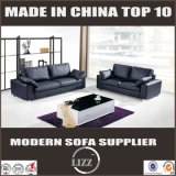 Skinn Sofa-Art-modernes ledernes Schnittsofa