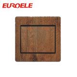 Interruptor de madeira confortável da parede do grupo do material 3 do PC da cor