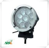 9PCS*5W 크리 사람 LED 칩, 3800 루멘 백색 색깔, 반점/플러드 광선 의 둥근 빛을%s 가진 스테인리스 부류가 도로 빛 떨어져 45W 차에 의하여 LED, 일 점화한다
