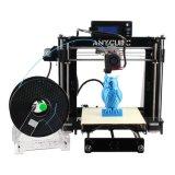 kit 210X de la impresora 3D filamento del PLA del micrón 1.75m m de las dimensiones 50 de la estructura de 210 x de 205m m