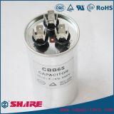 Capacitor começar do motor de C.A. do capacitor de funcionamento do motor Cbb65