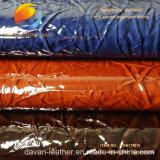 Gute Qualitäts-PU-Beutel-Leder mit geprägter Oberfläche Fsb17m1e