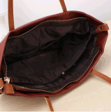 Retro Casual Sac à bandoulière en cuir PU en cuir (BDMC102)