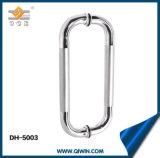 Het Handvat van de Deur van het Glas van de Badkamers van het roestvrij staal (dh-5003)