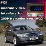 Surface adjacente visuelle pour la série S 2009 du benz C/E/avec le support de système W221 dans le cadre androïde externe de navigation