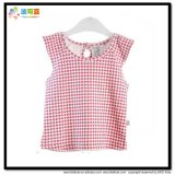 아기 착용 새로운 디자인 신생 소녀 t-셔츠를 인쇄하는 줄무늬