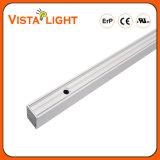 Luz linear do diodo emissor de luz do pendente do poder superior 40W para hospitais