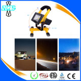 Facile à manipuler Lampe LED Camping Emergency Rechargeable LED Flood Light 10W