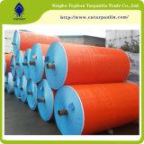 poly couvertures stratifiées oranges de plastique de bâche de protection de la bâche de protection 120GSM