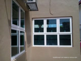 Стекло плотно сжатое ураганом закаленное прокатанное алюминиевое Windows и двери