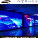 Tablilla de anuncios a todo color de interior de LED del alquiler P4.81