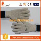 Ddsafety 2017 guanti di funzionamento del poliestere naturale bianco del cotone