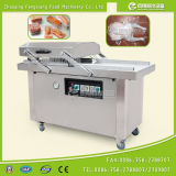 DZ-600 de dubbele Machine van de Verpakking van het Voedsel van de Kamer Volledige Automatische Vacuüm voor Vlees