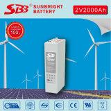 Batterie pour panneaux solaires à énergie renouvelable Opzv 2V2000ah