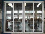 مصنع عمليّة بيع ألومنيوم [سليد غلسّ دوور] مع [ستينلسّ ستيل] شبكة/شبكة