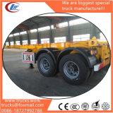 20FT of 40FT de Oplegger van de Vrachtwagen van het Skelet van de Container