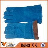 Перчатки руки перчатки шпицрутена заварки фабрики Китая промышленные кожаный