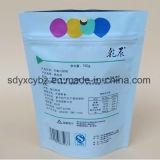 Nahrungsmittelförderung-Plastikverpackungs-Fastfood- Beutel mit Reißverschluss
