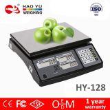 RS232 3kg elektronischer Digital Tisch-rechnenpreis-Schuppe