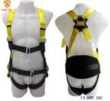 Protection contre les chutes Harnais de sécurité corporelle complète avec cordon En361