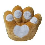 Da pata colorida do urso do brinquedo das crianças dos presentes do Natal descanso enchido lombar
