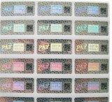 普及した安い高品質のカスタム私用ホログラムのステッカーのホログラフィックステッカー