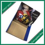 Boîte de présentation estampée par logo fait sur commande de carton ondulé